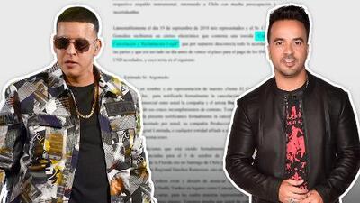 Daddy Yankee es demandado por incumplimiento de contrato en conciertos donde Luis Fonsi también iba a actuar