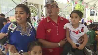 Celebración de las fiestas patrias de México y países centroamericanos en Redwood