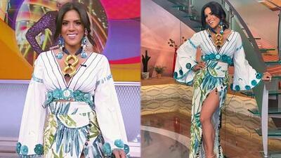 Francisca nos dio un adelanto de cómo lucirá como modelo de Giannina Azar en el Miami Fashion Week