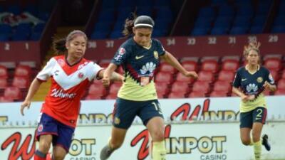 América hace 'ceviche' al Veracruz femenil con un aplastante 8-1