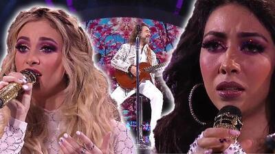 Las hijas de 'El Buki' debutaron en Viña del Mar y así cantaron al lado de su padre