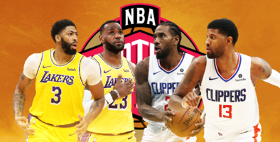 Lakers y Clippers brillan en el Oeste de la NBA