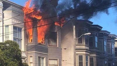 Incendio en San Francisco deja 15 personas desplazadas