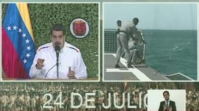 Nicolás Maduro dice que Venezuela sufrió un ataque electromagnético