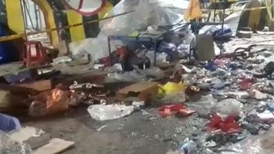 Ocho muertos y 40 heridos tras la explosión de una bombona de gas en un carnaval de Bolivia