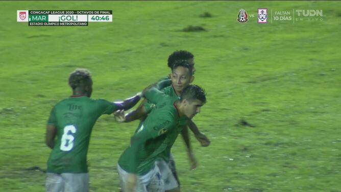 Marathón logra el 1-1 con penalti ejecutado por Allan Banegas