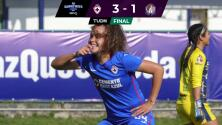 Cruz Azul vence de manera contundente 3-1 al Atlético San Luis