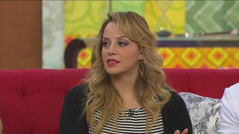 Rosie Rivera se considera la porrista de Chiquis