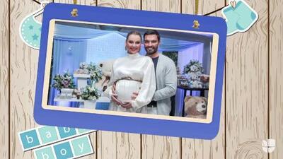 Marjorie de Sousa y Julián Gil le dieron la bienvenida a su primer hijo