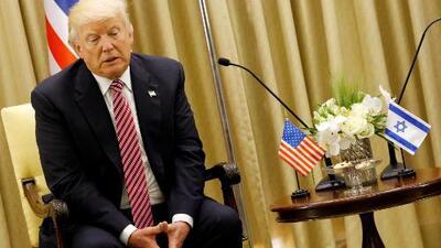 Donald Trump promete a Israel que Irán nunca tendrá armas nucleares