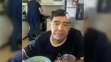 """El último video de Maradona con vida: """"Estoy abollado"""""""