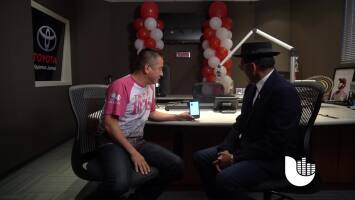 Joe Posada visits the Uforia Lounge