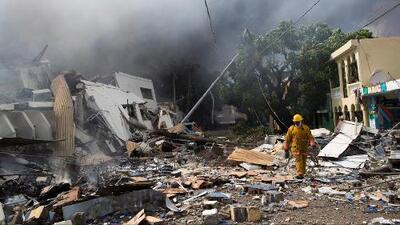 Muertos, heridos y desaparecidos tras explosión en una fábrica de plásticos en República Dominicana