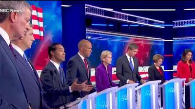 Last night's Democratic Presidential debate takeaways