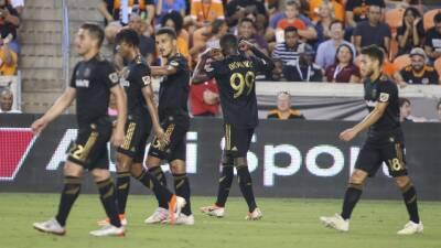 En fotos: sin Carlos Vela, Los Ángeles FC ganó como visitante a Houston Dynamo