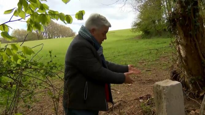 Un granjero movió una piedra para pasar con su tractor y modificó por accidente la frontera entre Bélgica y Francia