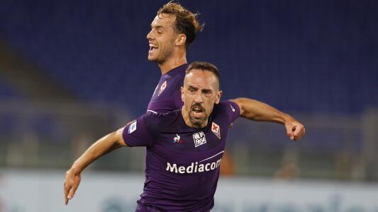 Ribéry sufrió robo mientras jugaba con la Fiorentina
