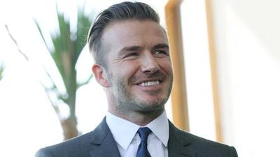 David Beckham encendió la fiebre del fútbol en Miami