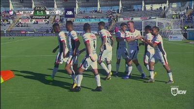 Lobos BUAP venció 3-1 a Querétaro con estos goles