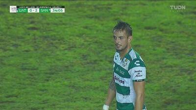 ¡Doblete! El 'hermoso del gol' puso el 2-0 sobre Correcaminos