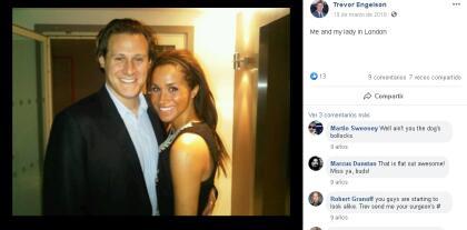 """Trevor Engelson y Meghan Markle fueron novios durante seis años hasta que  <b><a href=""""https://www.univision.com/entretenimiento/las-fotos-de-la-primera-boda-de-meghan-markle-y-no-se-parece-en-nada-a-la-que-tendra-con-el-principe-harry-fotos#effe3eae0000"""" target=""""_blank"""">se casaron en septiembre del 2011</a></b>, pero terminaron su matrimonio solo  <b>23 meses después</b>. <br>"""