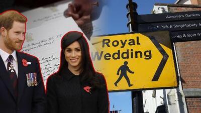Así será la boda del príncipe Harry y Meghan Markle: guía para no perder un detalle del evento
