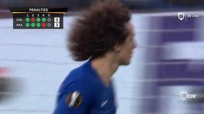 ¡GOOOL! David Luiz anota para Chelsea