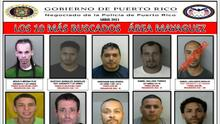 Los 10 fugitivos más buscados por la policía en el área de Mayagüez
