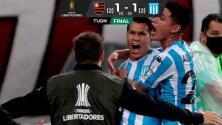 ¡Racing elimina el campeón Flamengo de la Copa Libertadores!
