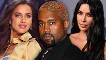 Kanye West pasaba su cumpleaños junto a Irina Shayk en Francia mientras Kim Kardashian le declaraba su amor eterno