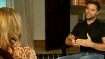 Ricky Martin dejó los secretos y se confesó