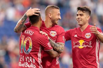 En fotos: NY Red Bulls recupera terreno en el Este sobre Chicago Fire