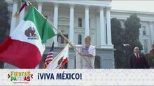 Ceremonia de El Grito 2020 desde el Capitolio estatal en California