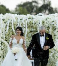 Nicky Jam publica hermosas fotos de su esposa y su boda