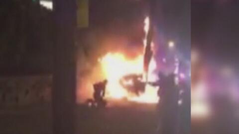 Investigan persecución policial que dejó a un hombre en llamas y golpeado por agentes en Nueva Jersey