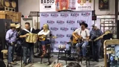 "Kevin Fowler and Gabe Garcia perform ""Tonta"" with David Lee Garza"