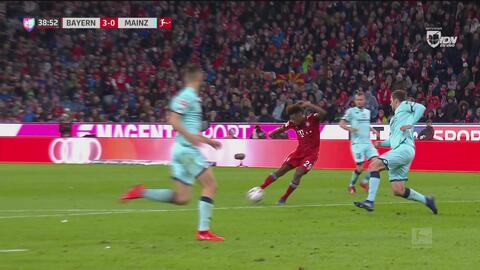 ¡Ya es goleada! Coman pone a ganar 3-0 al Bayern Munich ante el Mainz