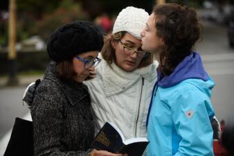 En fotos: Tiroteo en una sinagoga en Pittsburgh es investigado como un crimen de odio