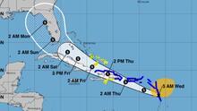 Florida se mantiene dentro del cono de trayectoria del potencial ciclón tropical 9