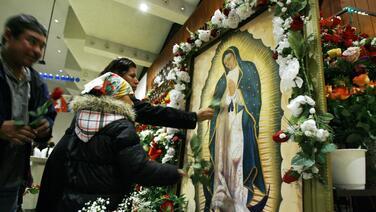 En estas iglesias del Área de la Bahía le cantarán las mañanitas a la Virgen de Guadalupe