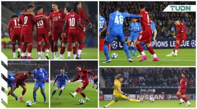 El Liverpool golea al Genk a domicilio