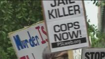 Protestan contra la brutalidad policiaca en Houston por el caso de Marcelo García