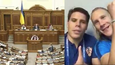 Sube la tensión política tras polémico video de seleccionados croatas festejando a Ucrania luego de eliminar a Rusia