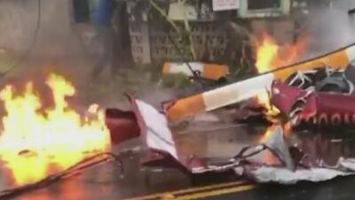 Mueren tres personas en un accidente de helicóptero en Hawaii