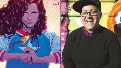 La primera latina y 'queer' en entrar en el universo Marvel