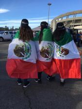 Fotos de la previa México vs Chile desde San Diego
