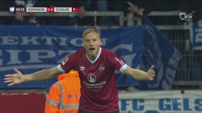¿Pero qué marco el árbitro? Se le quita un gol al Nürnberg y el VAR no hace nada