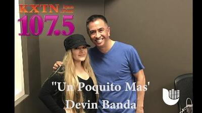 Devin Banda premieres 'Un Poquito Mas'