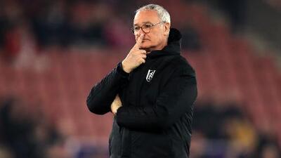 ¡Se terminó la paciencia! El Fulham despide a Claudio Ranieri