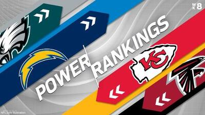 Eagles y Cowboys ascienden en el Power Ranking tras la Semana 7